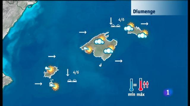 El temps a les Illes Balears - 13/04/18