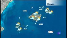 El temps a les Illes Balears - 14/09/18