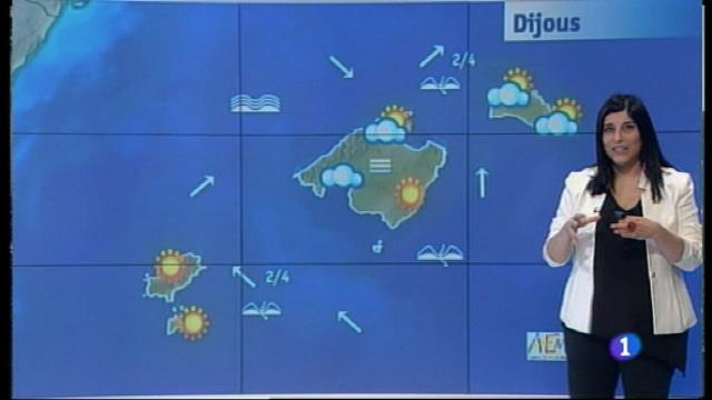 El temps a les Illes Balears - 17/01/18