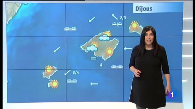 El temps a les Illes Balears - 18/04/18
