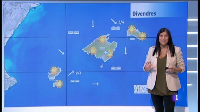 El temps a les Illes Balears - 20/09/18