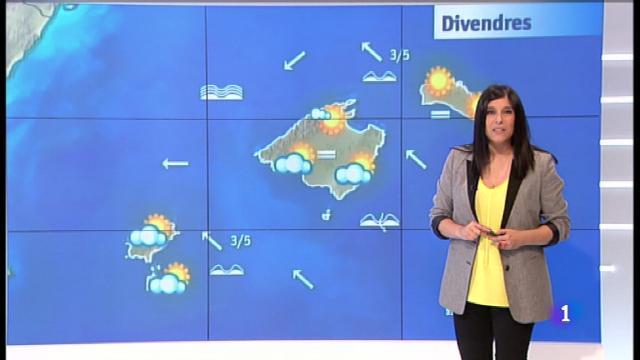El temps a les Illes Balears - 24/05/18