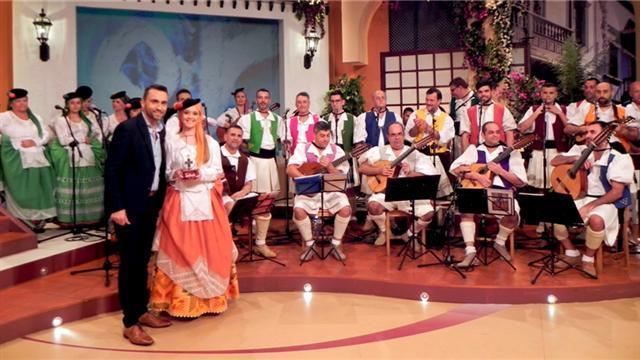 Tenderete - 04/03/2018 Con la Agrupación Chemida y Carmen Bautista con el grupo Cadencia.