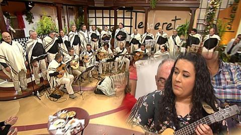 Tenderete - 16/12/2018  Tenderete recibe al grupo asturiano Vuelta abajo y a la timplista Alba Chávez.