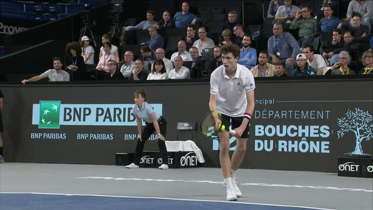 ATP 250 Torneo Marsella: U. Humbert - B. Coric