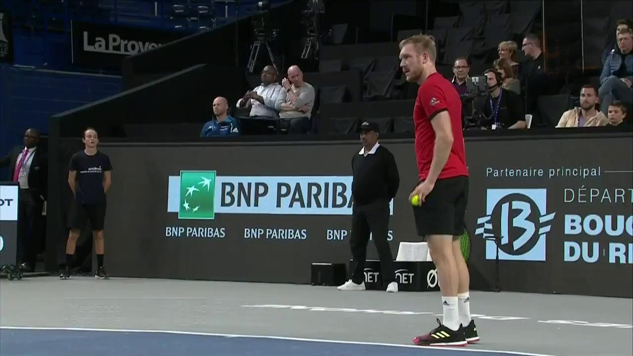 ATP 250 Torneo Marsella: F. Verdasco - M. Bachinger