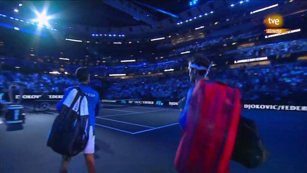 Laver Cup 2018: dobles: Djokovic/Federer - Anderson/Sock