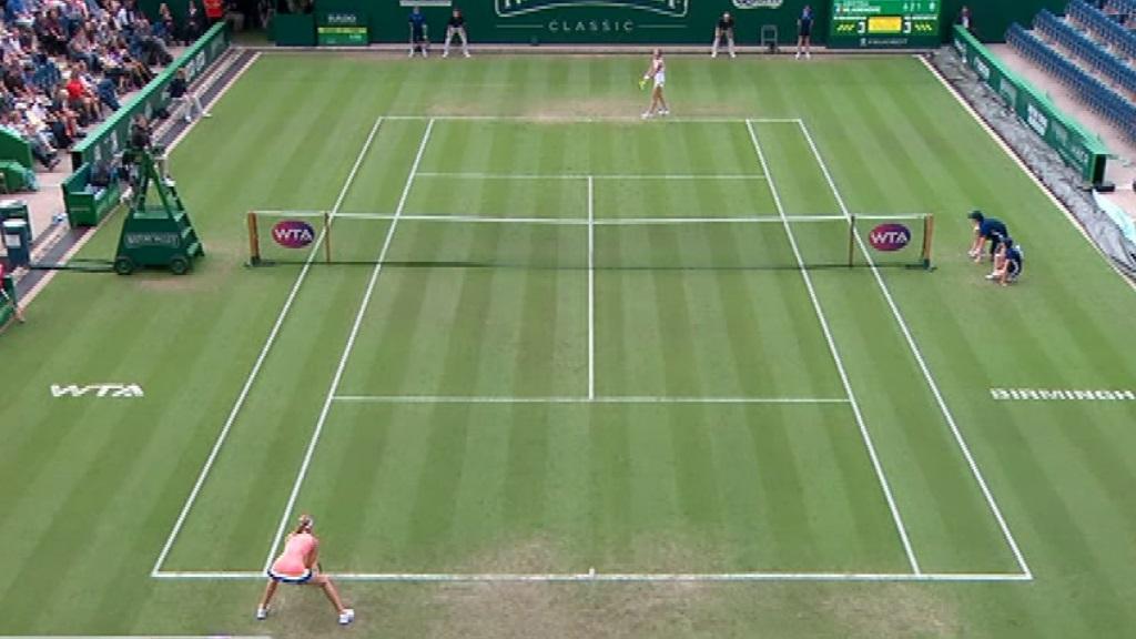 WTA Torneo Birmingham: M. Rybarikova - K. Mladenovic