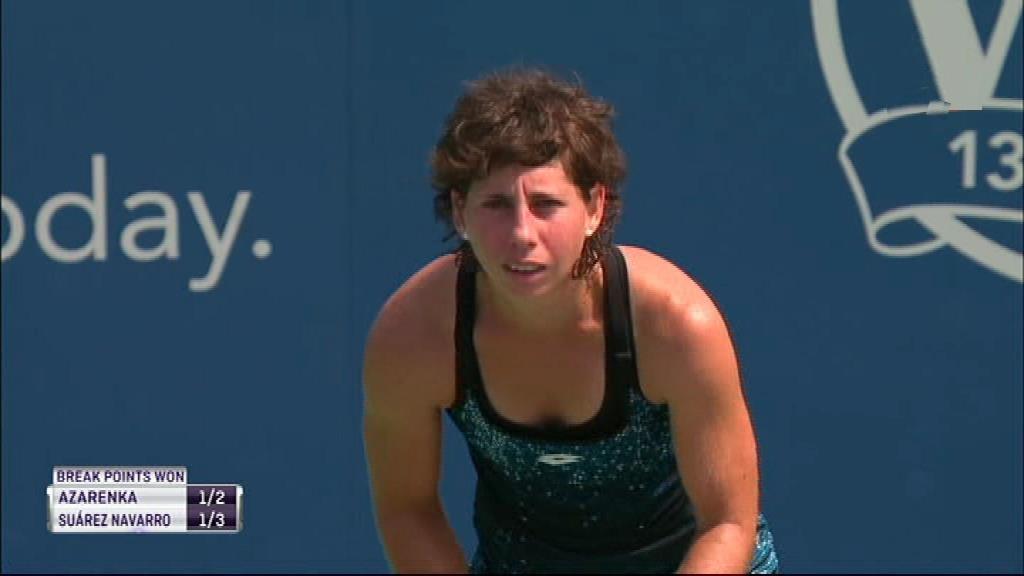WTA Torneo Cincinnati (EEUU): Azarenka - Suárez Navarro