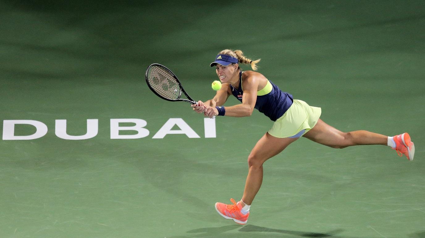 WTA Torneo Dubai (Emiratos Árabes): B. Strycova - A. Kerber