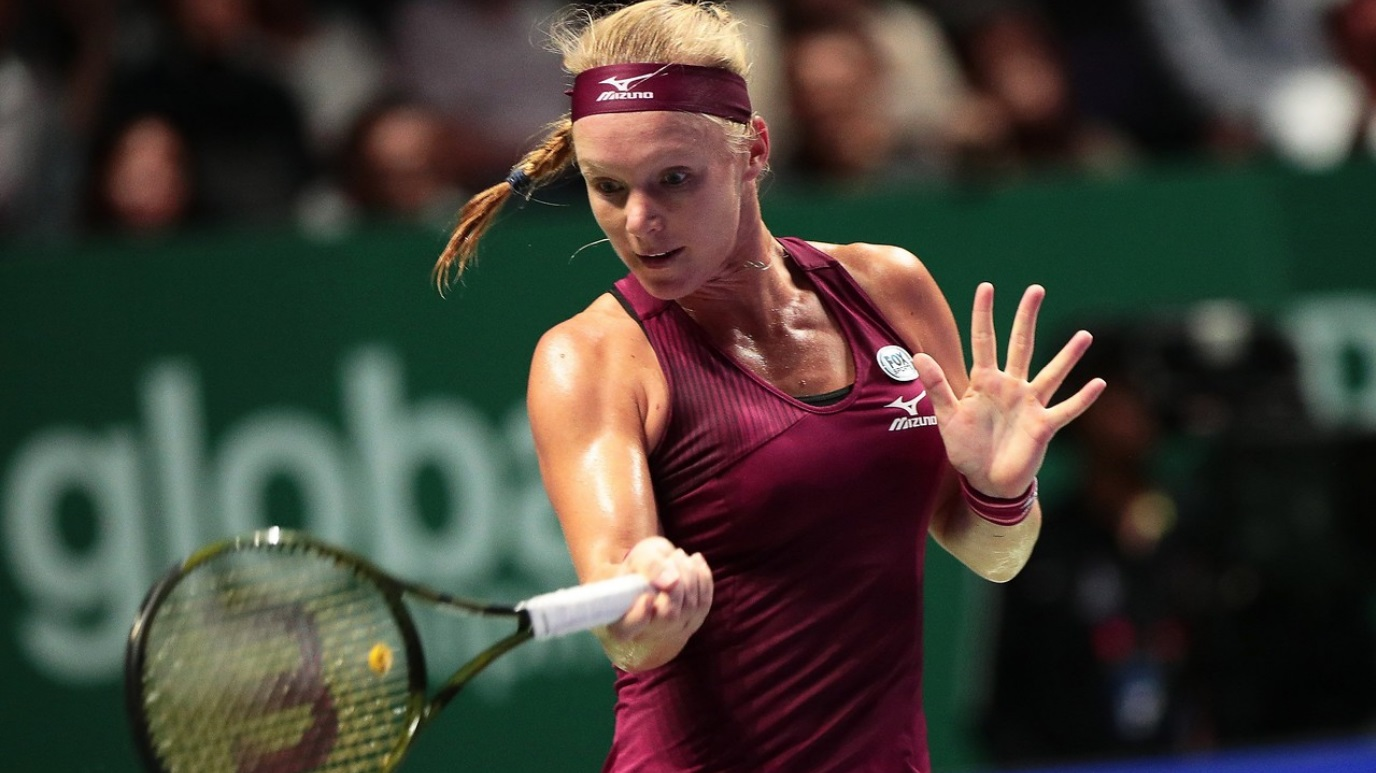 WTA Torneo Finals Singapur (China): A. Kerber - K. Bertens