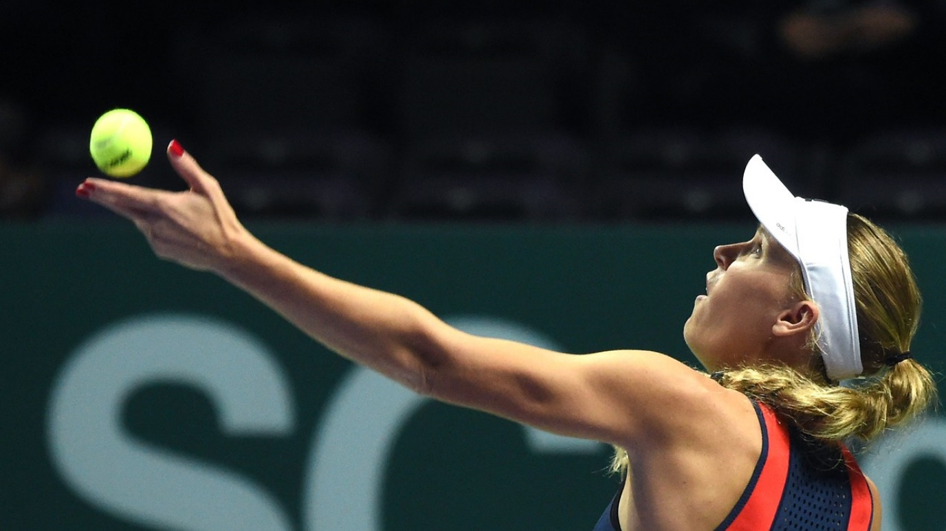 WTA Torneo Finals Singapur (China): C.Wozniacki - P. Kvitova