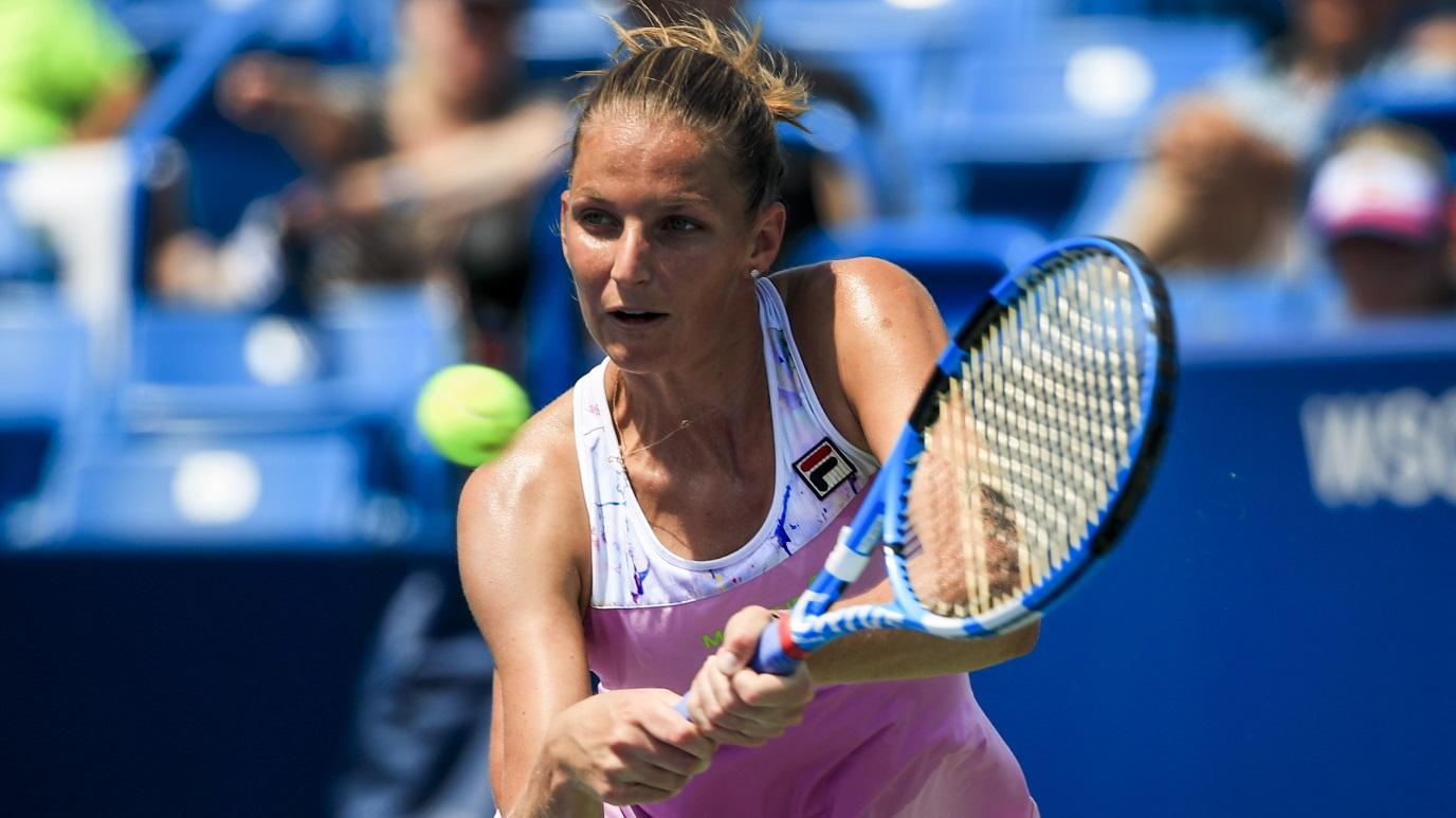 WTA Torneo New Haven (EEUU): K. Pliskova - Y. Makarova