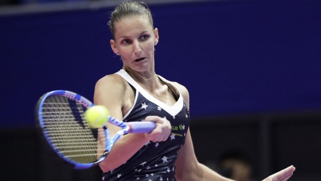 WTA Torneo Tokio. 1ª Semifinal: K. Pliskova - D. Vekic