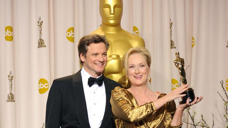 Meryl Streep consiguió anoche su tercera estatuilla en los Oscar