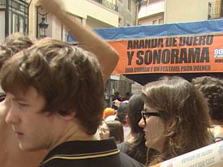 40.000 personas disfrutan del Sonorama en Aranda de Duero