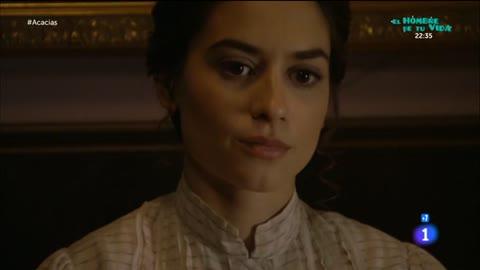 Acacias 38 - Teresa le cuenta a Mauro que Humildad está en el hospital