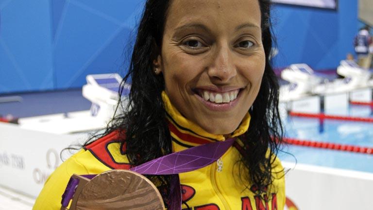 Teresa Perales logra la 20ª medalla de su carrera, bronce