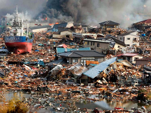 Cientos de víctimas tras el terremoto en Japón