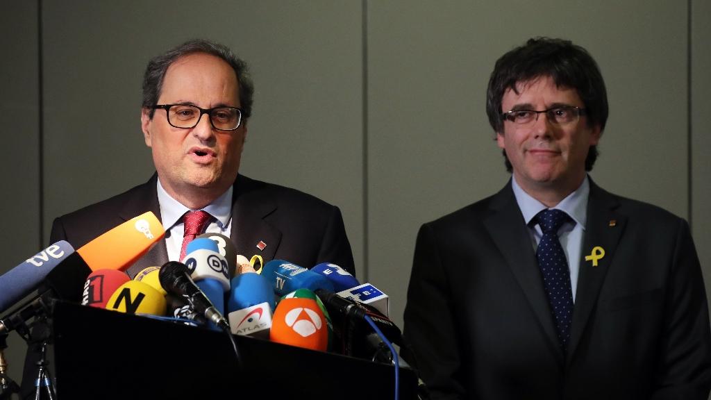 La tarde en 24 horas - Tertulia: Especial rueda de prensa de Torra y Puigdemont - 15/05/18