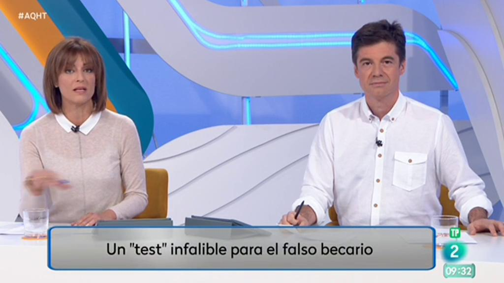 El test del falso becario