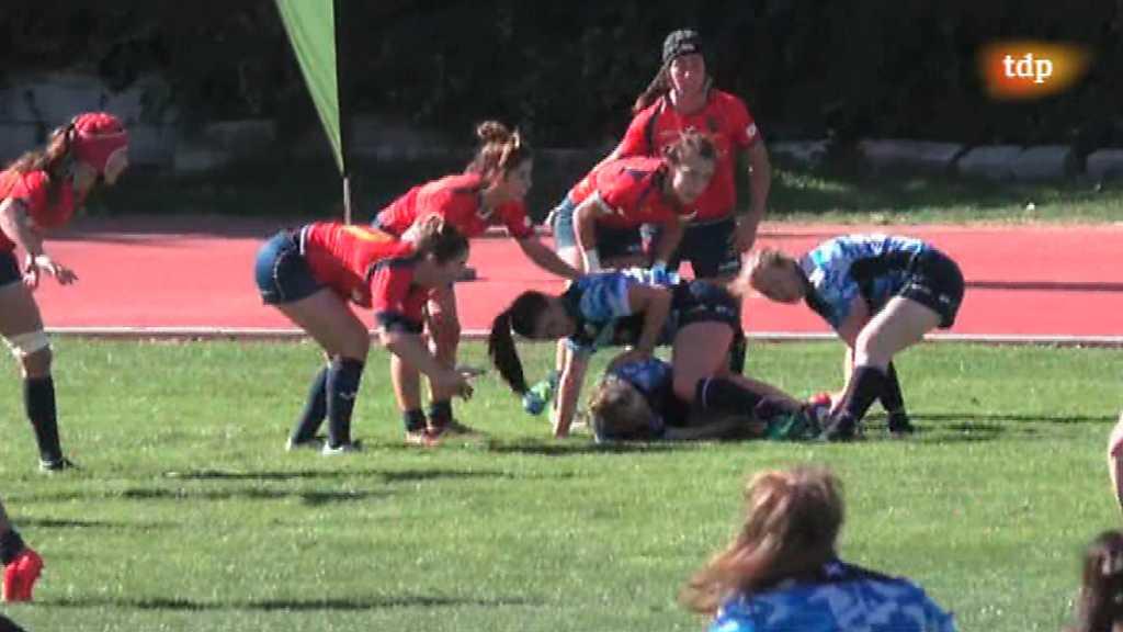 Rugby - Test Match Selección Femenina: España - Escocia. Resumen