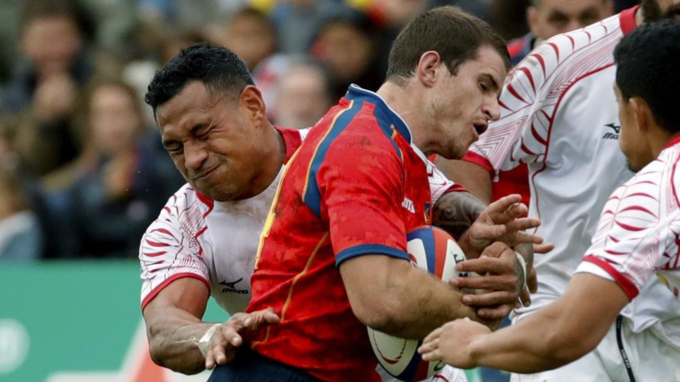 Rugby - Test Match World. Masculino: España - Tonga