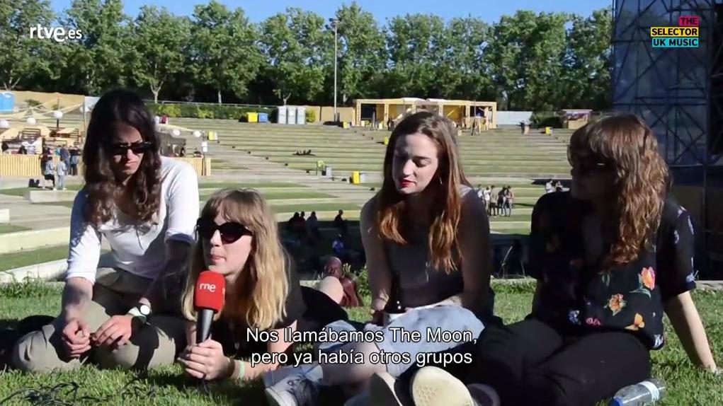The Selector - The Big Moon vídeo entrevista - 02/08/2017