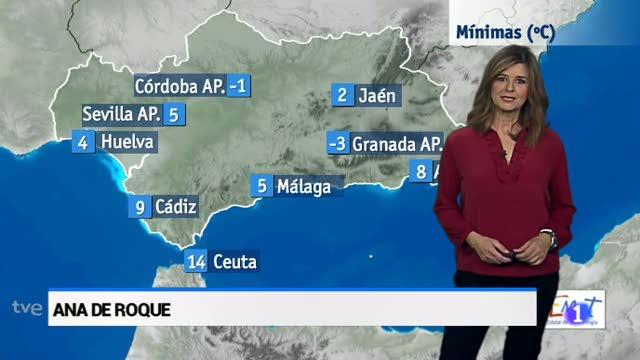 El tiempo en Andalucía - 05/12/17