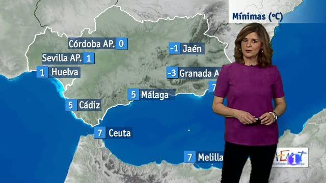 El tiempo en Andalucía - 08/02/18