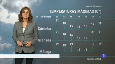 El tiempo en Andalucía - 10/12/2018