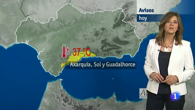 El tiempo en Andalucía - 10/6/2016