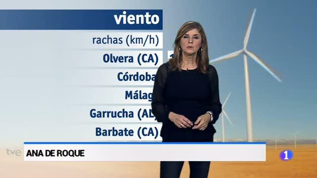 El tiempo en Andalucía - 11/12/17