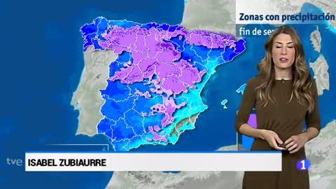 El tiempo en Andalucía - 12/01/18