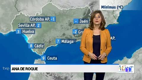El tiempo en Andalucía - 13/02/18