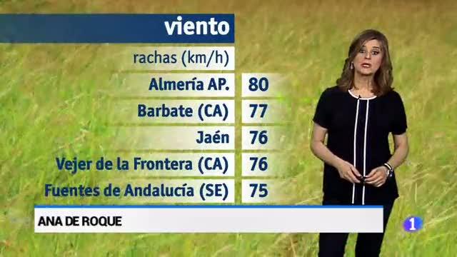 El tiempo en Andalucía - 15/03/18