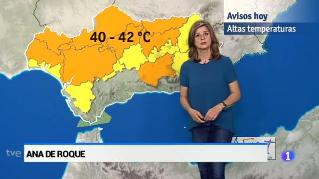 El tiempo en Andalucía - 16/06/2017