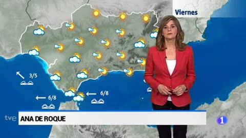 El tiempo en Andalucía - 20/04/18