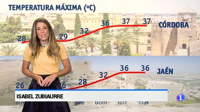 El tiempo en Andalucía - 28/06/2017