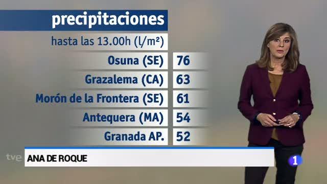 El tiempo en Andalucía - 29/11/17