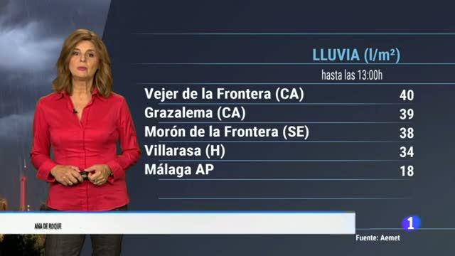 El tiempo en Andalucía - 30/10/18