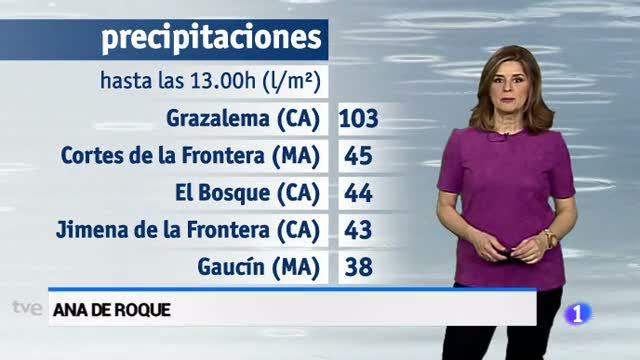 El tiempo en Andalucía - 8/3/2018