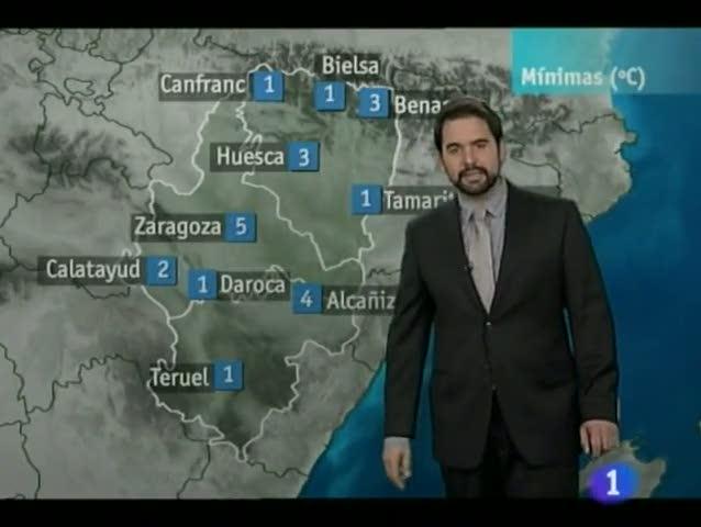 El tiempo en Aragón - 05/03/12