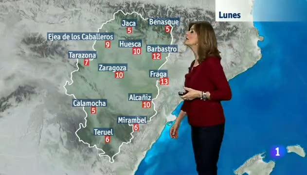 El tiempo en Aragón - 12/02/2018