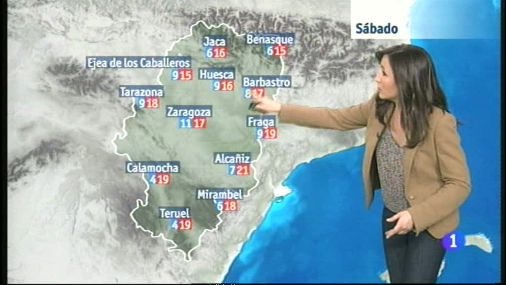 El tiempo en Aragón - 21/11/14
