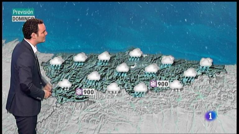 El tiempo en Asturias - 18/01/19