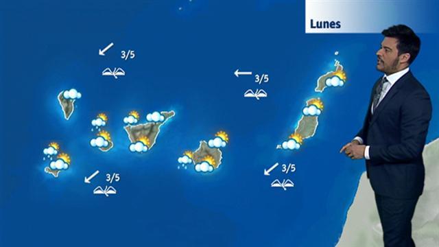 El tiempo en Canarias - 03/12/2017