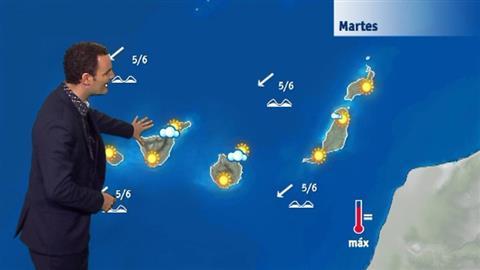 El tiempo en Canarias - 04/09/2018