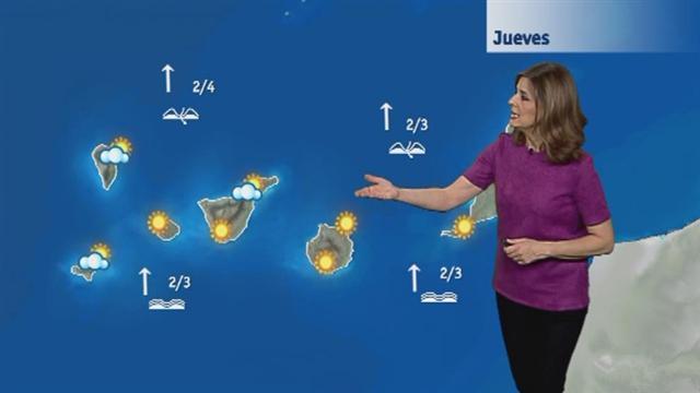 El tiempo en Canarias - 08/03/2018
