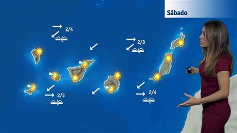 El tiempo en Canarias - 09/12/2017